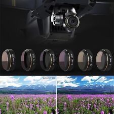 6pcs PGY G-UV ND4 ND8 ND16 ND32 CPL HD Camera Lens Filters Set For DJI MAVIC Pro