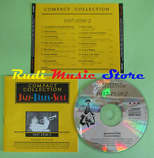 CD JAZZ BLUES SOUL 1937-1938/2 compilation PROMO 1994 CARTER LIL ARMSTRONG (C25)