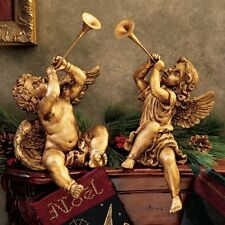 Design Toscano JE930801 Trumpeting Angels of St. Peters Square Statue