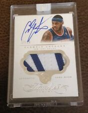 2013-14 FLAWLESS CARMELO ANTHONY PATCH AUTO 17/25 Wow GAME WORN