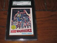 ROBERT PARRISH AUTOGRAPHED 1977-1978 TOPPS ROOKIE CARD-SGC SLAB-ENCAPSULATED