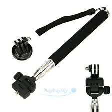 Extendable Handheld Monopod Tripod Mount Adapter for GoPr Hero 3/2/1 Camera New