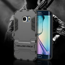 NEW Military Slim Bumper Armor Cover Stand Case For Samsung Galaxy S6 Edge+ Plus