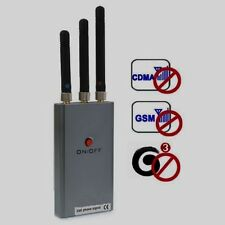 Jammer GSM/CDMA/DCS/PHS/3G  (Coverage: 5~10 meters)