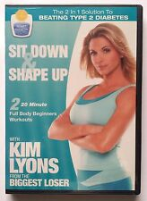 "Kim Lyons From The Biggest Loser ""Sit Down & Shape Up"" DVD Brand New Sealed"