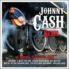 JOHNNY CASH - REBEL 3 CD (BOX-SET) NEU