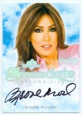 """BROOKE MORALES """"DREAM DATE AUTOGRAPH #5/5"""" BENCHWARMER DREAMGIRLS PREVIEW 2016"""