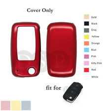 Paint Metallic Color Cover fit for VW VOLKSWAGEN SEAT SKODA Remote Key RD
