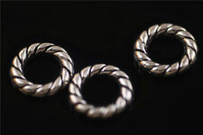 Sold  30ps Tibetan Silver Closed Rings Connectors Jewelry Making Findings 15mm
