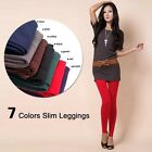 Women Warm Winter Skinny Slim Leggings Stretch Pants Thick Footless New