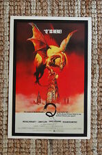 Q is Here Lobby Card Movie Poster Michael Moriarty