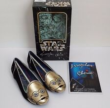 NEW IRREGULAR CHOICE STAR WARS C3PO WOMENS SHOES LIMITED EDITION SIZE 10