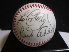 Abbott & Costello Novelty/Replica 1940's Autographed Baseball  Who's on First?