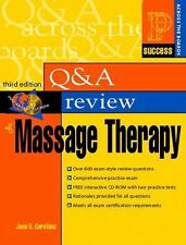 Prentice Hall Health's Question & Answer Review of Massage Therapy, Th-ExLibrary