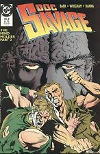 DOC SAVAGE The Mind Molder Part 2 May 1989 No 8 DC Comics Robeson