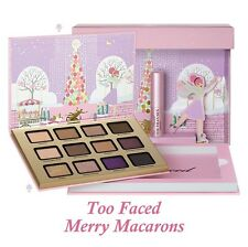 Genuine TOO FACED Merry Macarons Set 12 Eyeshadow & Better Than Sex Mascara NEW