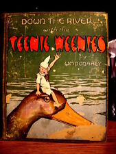 "RARE 1921 ""Down the River with the Teenie Weenies"" by Wm. Donahey  1st Edition"