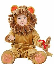 Little Lion Infant Baby Plush Halloween Costume 6-18 Months ( 16-24 lbs )