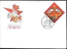 Russia Communist Propaganda FDC Cover 1981. October Revolution