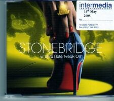 (DM632) Stonebridge VS Ultra Nate,  Freak On - 2005 CD