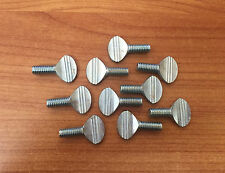 "Steel Spade-Head Thumb Screws -5/16"" -18 & 3/4 Length -Pack of 10"