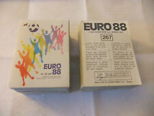 PANINI EURO 88/EM 88 PICK 10 PCS YOU NEED