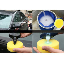 12x Polish Wax Round Foam Sponges  Applicator Pads for Clean Car Glass