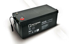 Akku Batterie Q-Batteries 208Ah 12V AGM 12LS-200 für USV/Security/IT/Alarm