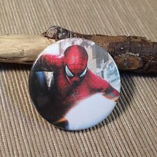 Spilla Spilletta Pins Pin Brooch Cute Artigianale Spiderman Supereroi 37 mm Boy