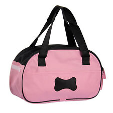Bag Carrier for Pet Puppy Dog Cat Travel Carrying Tote Pink New