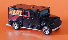 2007 Matchbox Loose International Armored Black iNat Armored Transport Brand New