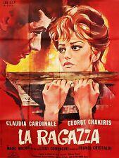 Affiche 120x160cm LA RAGAZZA (LA RAGAZZA DI BUBE) 1964 Claudia Cardinale BE