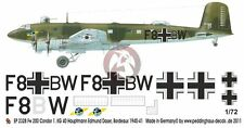 Peddinghaus 1/72 Fw 200 C-1 Condor Markings Edmund Daser 1./KG 40 France 2328