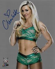 CHARLOTTE FLAIR WWE DIVA SIGNED AUTOGRAPH 8X10 PHOTO #2