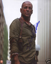 BRUCE WILLIS - DIE HARD AUTOGRAPH SIGNED PP PHOTO POSTER