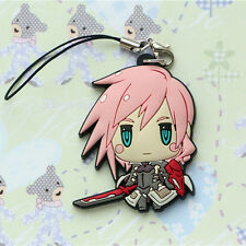 Final Fantasy XIII FF 13 FFXIII Lightning Figure Strap Cell Phone Chain Charm