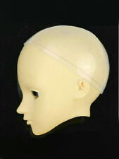 """5-6"""" Silicon Wig Cap for 1/8 BJD SD Super Dollfie Lati-Yellow BB or Similar Doll"""