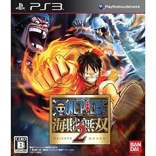 PS3 One Piece Kaizoku Musou 2 Japan import Free Shipping
