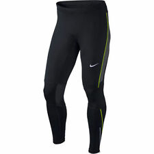 MEN'S SIZE MEDIUM NIKE DRI-FIT RUNNING TIGHTS ESSENTIAL BLACK PANTS 644256 010