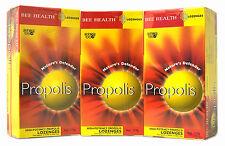 Lot De 3 Bee Health Propolis Pastilles système immunitaire sain
