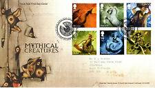 16 JUNE 2009 MYTHICAL CREATURES ROYAL MAIL FIRST DAY COVER BUREAU SHS
