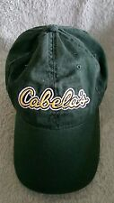Cabella's Dark Green Ball Cap Hat Adjustable World's Foremost Outfitter