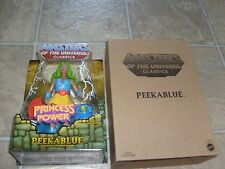 Masters Of The Universe Classics PEEKABLUE figure MIB (He-Man, She-Ra, MOTU HTF