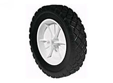 282 PLASTIC WHEEL 8 X 1.75 Plastic Wheel. Diamond Tread.  Fits Toro.