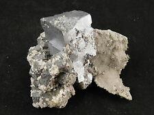 A 100% Natural GALENA Crystal CUBE Cluster Found in Missouri ! 305gr