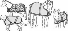 Suitability 7606 Blanket/Sheet For Miniature Horses Foal Pony Dog Sewing Pattern