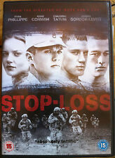 Ryan Phillippe Channing Tatum Joseph Gordon-Levitt STOP-LOSS ~ War Drama UK DVD