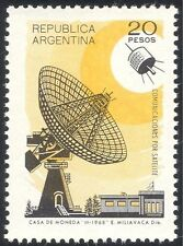 Argentina 1969 Radio Dish/Satellite/Space/Communications/Telecomms 1v (n24224)