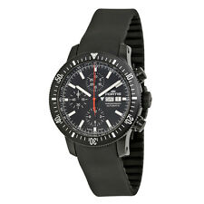 Fortis Monolith Black PVD Stainless Steel Mens Watch 638.18.31.K