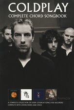 Coldplay Complete Chord Songbook Guitar Music Book